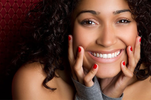 Sweet Young Lady Showing a Charming Smile | Cosmetic Dentistry in Friendly Smiles Center in Mount Laurel, NJ - Dr. Robert Chase