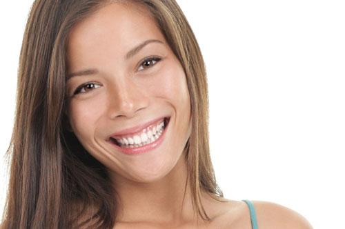 Beautiful Lady with Healthy Teeth and Gums | Gum Disease Treatment in Friendly Smiles Center in Mount Laurel, NJ - Dr. Robert Chase