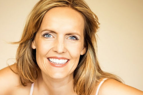 Gleeful Middle-Aged Woman | Restorative Dentistry in Friendly Smiles Center in Mount Laurel, NJ - Dr. Robert Chase