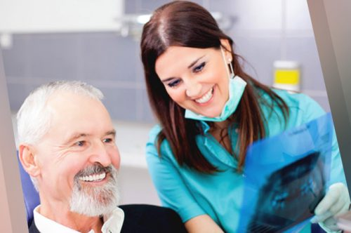Dentist with an Elderly Couple Patient | Why Choose Friendly Smiles Center in Mount Laurel, NJ